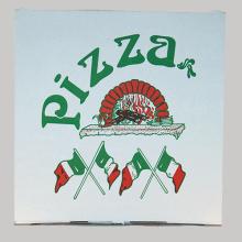 """Pizzakarton """"Top Qualität"""""""